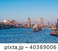 ロンドン タワーブリッジ テムズ川の写真 40369006