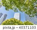 ビル 高層ビル 新宿の写真 40371103