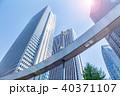 ビル 高層ビル 新宿の写真 40371107