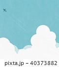 夏 雲 入道雲のイラスト 40373882