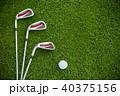 GOLF ゴルフ 棍棒の写真 40375156
