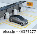 電気自動車 充電スタンド 充電のイラスト 40376277