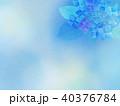 紫陽花 アジサイ 花のイラスト 40376784