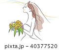 新婦のイメージイラスト 40377520