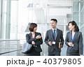 ビジネスマン 人物 ビジネスウーマンの写真 40379805