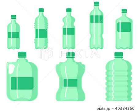 plastic water bottle vector blank nature clean liquid aqua fluid