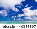 夏イメージ 海・ビーチ・青空 40386597