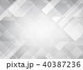 バックグラウンド ジオメトリック 幾何学的のイラスト 40387236