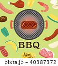 バーベキュー BBQ 40387372