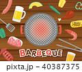 バーベキュー BBQ 40387375