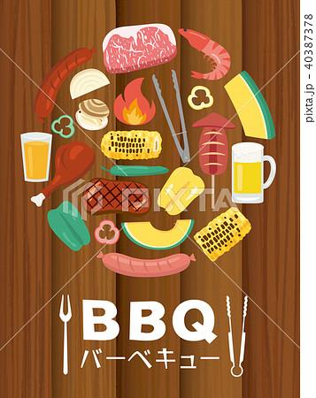 バーベキュー BBQ 40387378