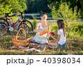 ピクニック 人々 人物の写真 40398034