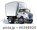 トラック 漫画 ベクトルのイラスト 40398920
