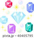 いろいろな宝石 40405795