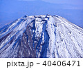 空撮 富士山 山の写真 40406471