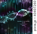 DNA Structure, Spiral, Science Template, Medical Background 40407260