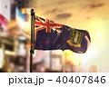 British Virgin Islands Flag Against City Blurred 40407846