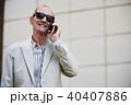 老人 シニア 年上の写真 40407886