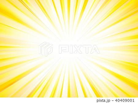 黄色放射線背景 40409001
