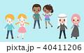 漫画 キャラクター 文字のイラスト 40411206