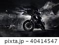 単車 バイク 街の写真 40414547