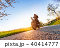 人 オートバイ バイカーの写真 40414777