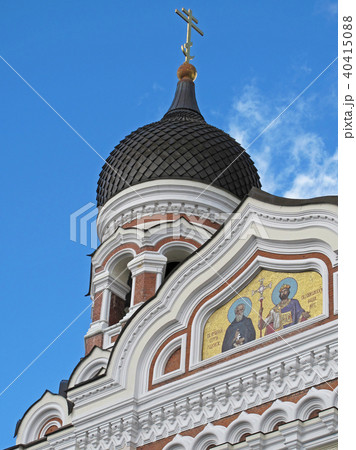 Alexander Nevsky Cathedral, old town of Tallinn, Estonia 40415088