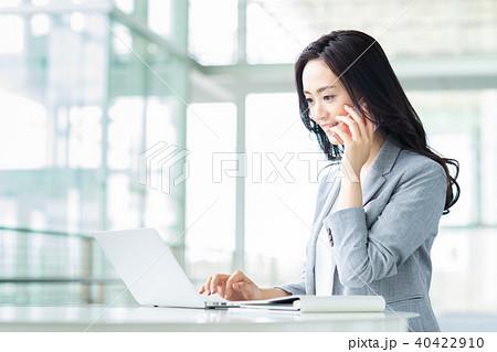 ビジネスウーマン(電話) 40422910