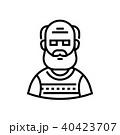 アイコン ベクトル 人のイラスト 40423707