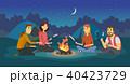ベクトル イラスト 挿絵のイラスト 40423729