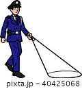 警備員 巡回 人物のイラスト 40425068