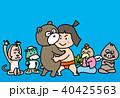 金太郎 相撲 男の子のイラスト 40425563