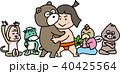 金太郎 相撲 男の子のイラスト 40425564