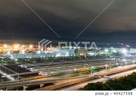 大井車両基地のバルブ撮影 40427598