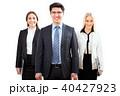 ビジネスマン グループ ビジネスチームの写真 40427923
