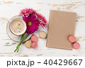 カップ コップ お花の写真 40429667