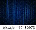 バックグラウンド 背景 6角形のイラスト 40430973