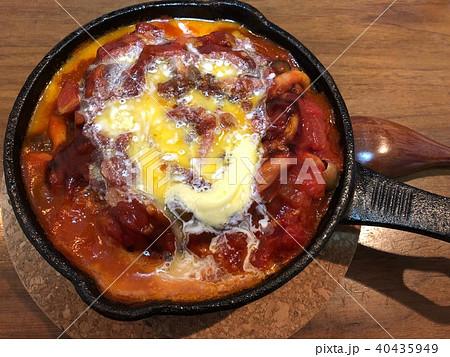トマトハンバーグ 40435949