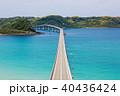 海 橋 角島大橋の写真 40436424