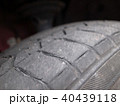 タイヤの亀裂発見!コレが現れたら交換サイン!! 40439118