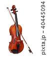 ヴァイオリンと弓/クリッピングパス付き 40445094