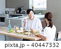 若い夫婦(朝食) 40447332