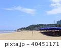 サムソンビーチ 砂浜 夏の写真 40451171