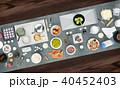 調理 クッキング 料理のイラスト 40452403
