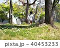 公園で走る子供 40453233