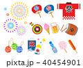 夏祭り イラスト セット 40454901