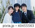家族 女の子 ポートレートの写真 40455563