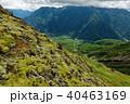中尾峠から見る大正池と霞沢岳 40463169