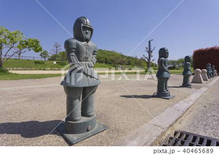 ニサンザイ古墳のはにわの柵柱 40465689