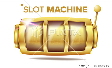 Slot Machine Vector. 40468535